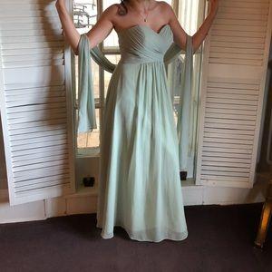 Bridesmaid dress ivory